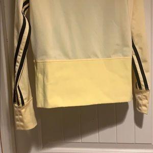 adidas Jackets & Coats - Adidas yellow training  jacket size Large EUC